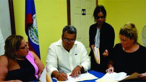 Cruise ship docking facility agreement signed