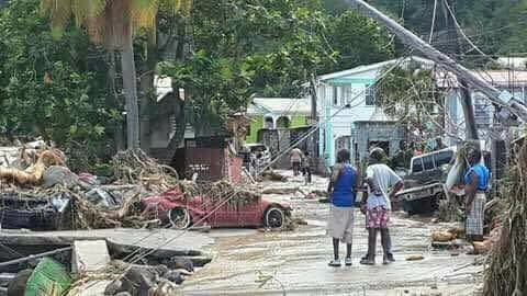 Government of Belize joins hurricane relief efforts Dominica