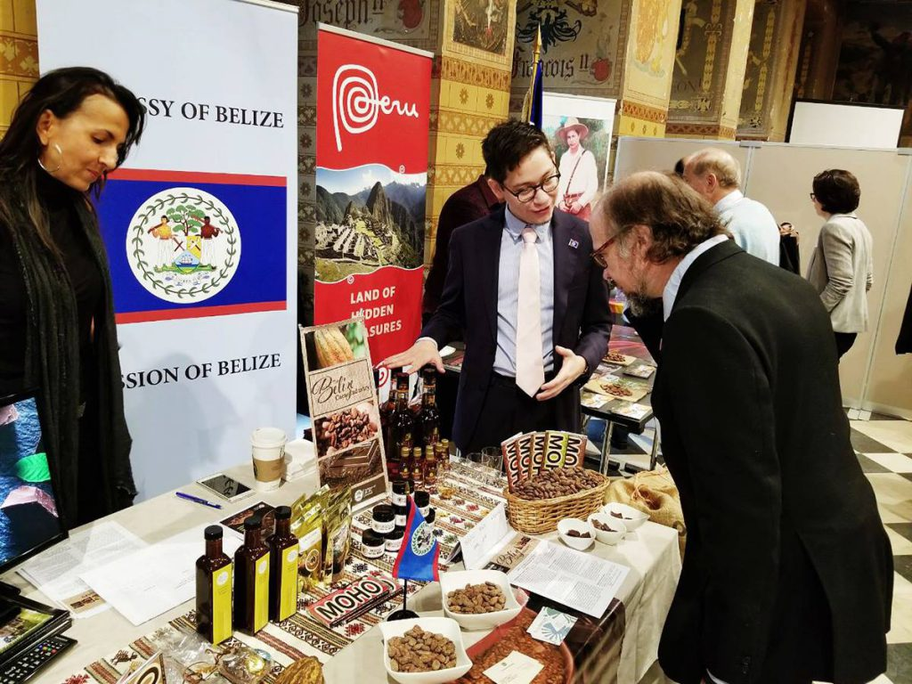 Belize at Intl Day of Cacao in Belgium