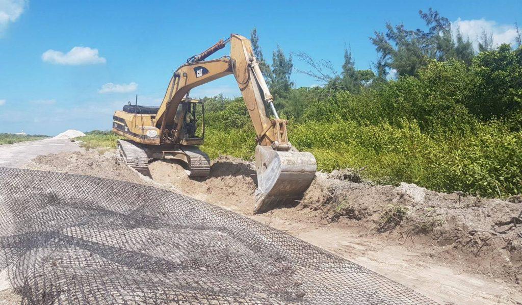 Renovation of Caye Caulker Runway