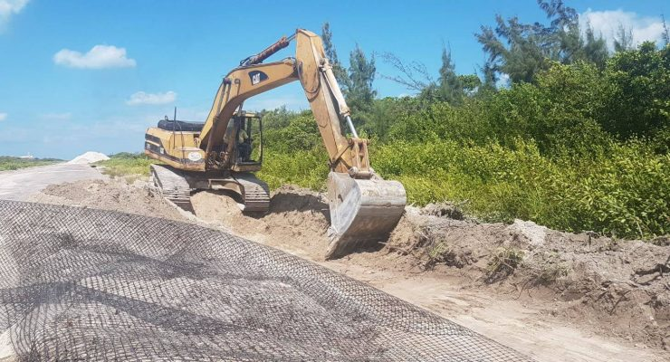Renovation of Caye Caulker Runway