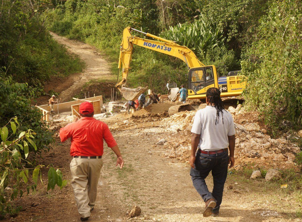 Tour of infrastructural works