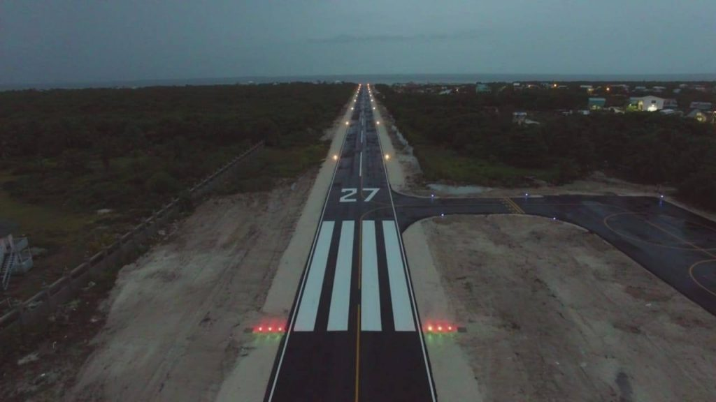 Caye Caulker new runway